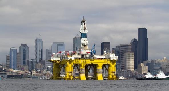 Royal Dutch Shell boorplatform