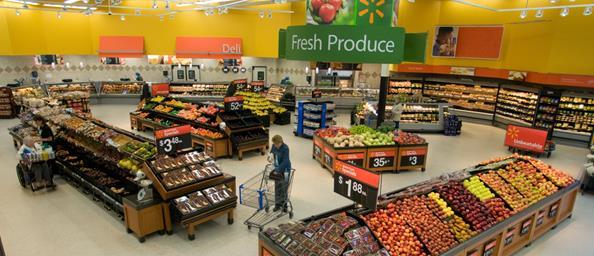 Wal Mart store